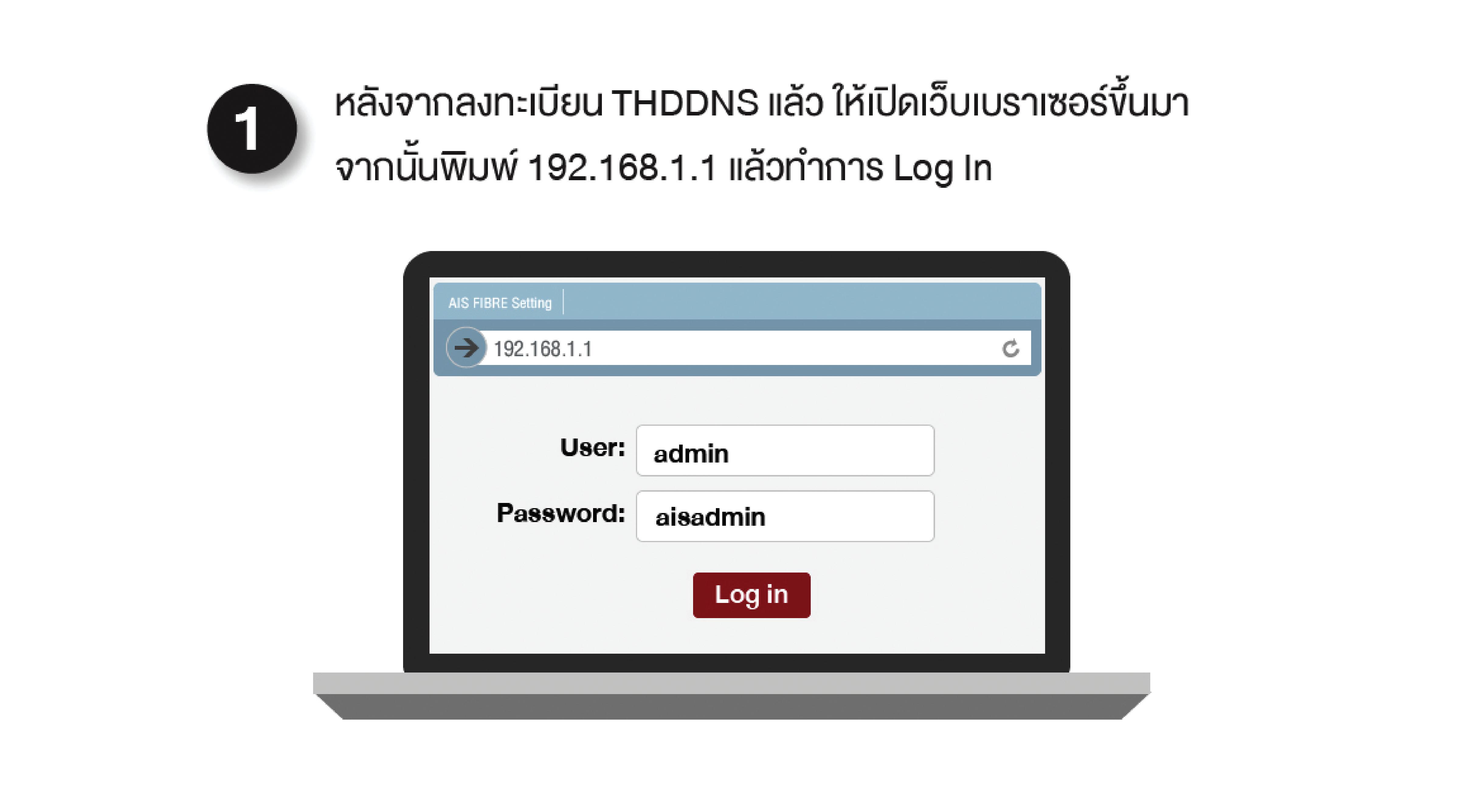 อยากเปลี่ยนชื่อและตั้งค่า AIS Fibrehome HG180 ต้องทำอย่างไร?